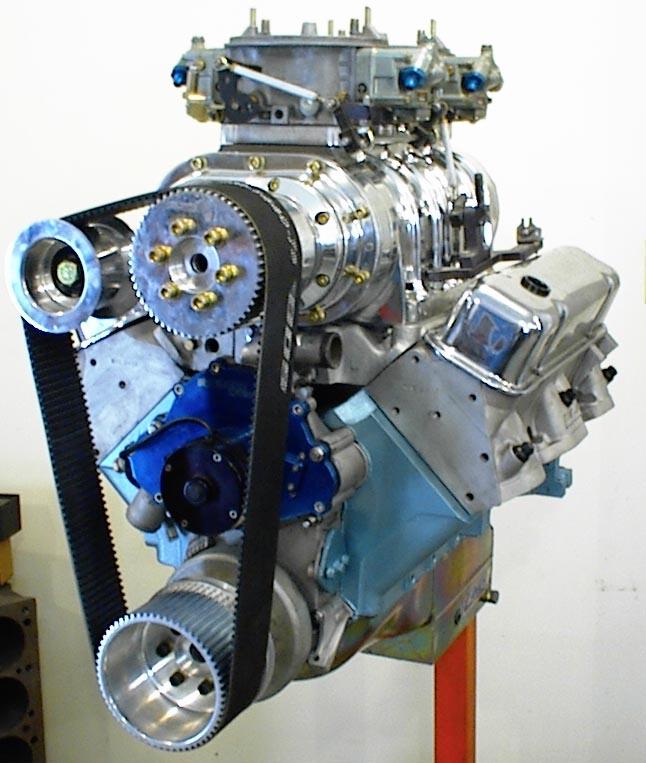 Roots Supercharger Carbs: Kauffman Racing Equipment