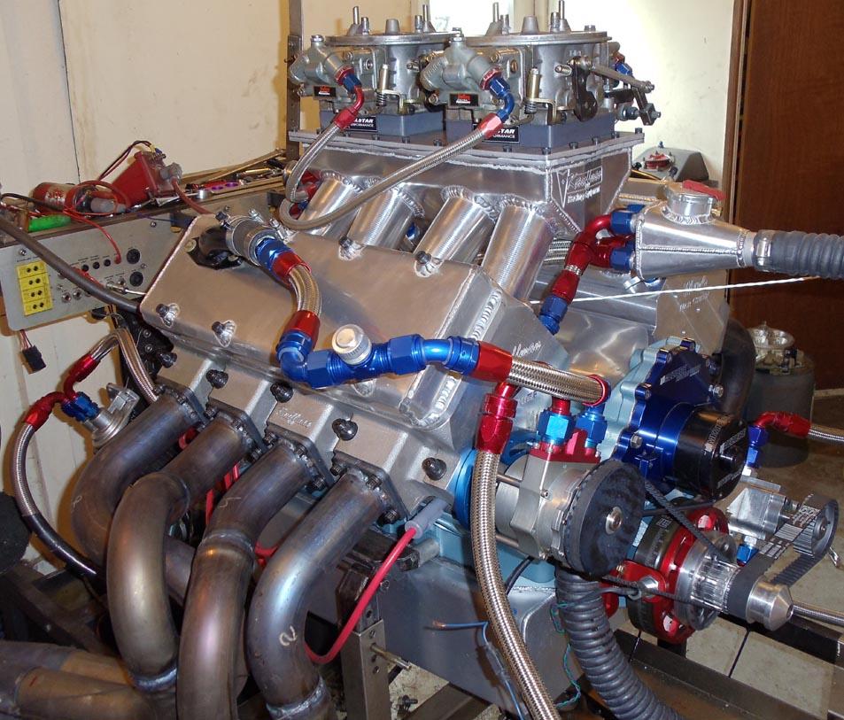 KRE Warp-6 engine